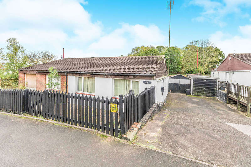 2 Bedrooms Semi Detached Bungalow for sale in Windsor Close, Rubery,Rednal, Birmingham, B45