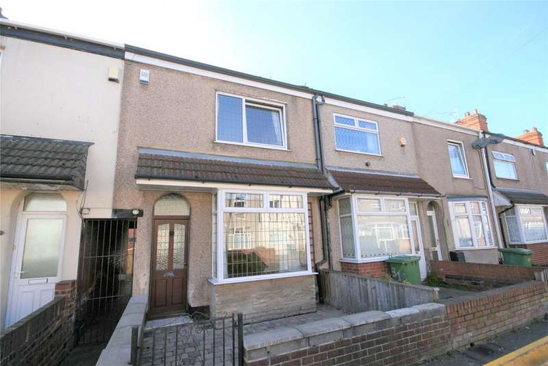 3 Bedrooms Terraced House for sale in Convamore Road, Grimsby, DN32