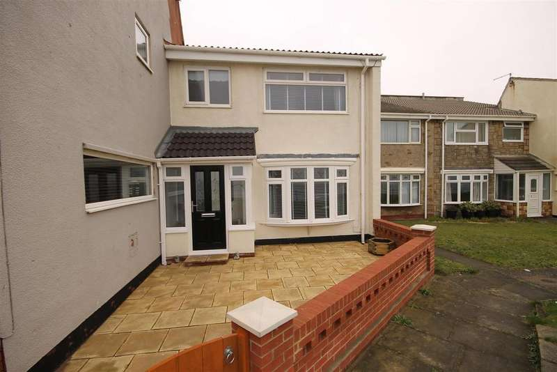 3 Bedrooms Terraced House for sale in Sea View Terrace, Headland, Hartlepool