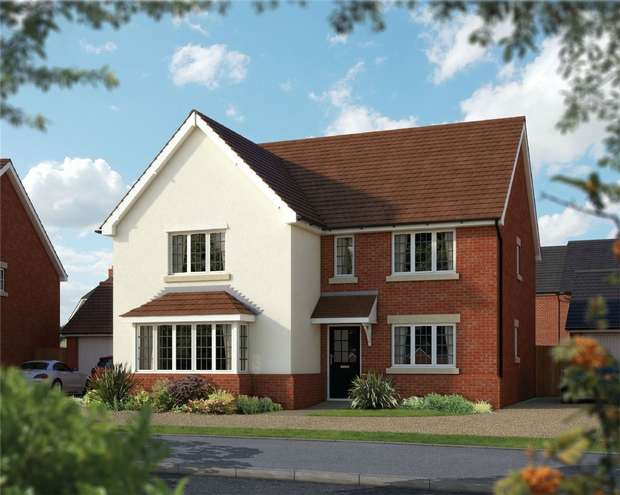 5 Bedrooms Detached House for sale in The Arundel, St Marys, King Fields, Biddenham