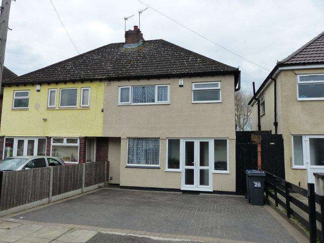 3 Bedrooms Semi Detached House for sale in Gladstone Road,Erdington,Birmingham