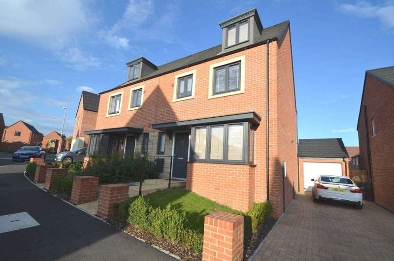 4 Bedrooms Semi Detached House for sale in Walmer Close, Northampton