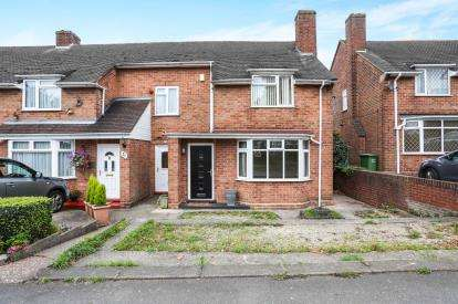 3 Bedrooms End Of Terrace House for sale in Wingfield Road, Coleshill, Warwickshire, .