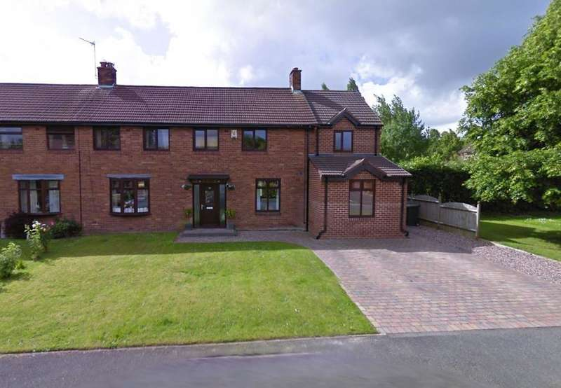 4 Bedrooms Semi Detached House for sale in York Avenue, Culcheth, Warrington, WA3 5RL