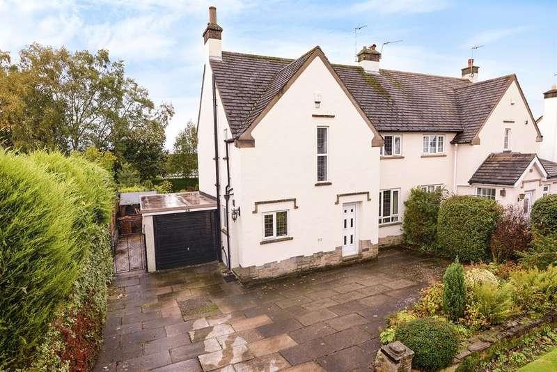 3 Bedrooms Semi Detached House for sale in Westgate, Guiseley, Leeds, LS20 8HL