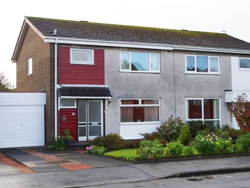 3 Bedrooms Semi Detached House for sale in 14 Glenbervie Drive, Kilwinning, KA13 6QG