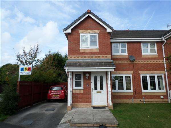 3 Bedrooms Semi Detached House for rent in Foxdene, Little Sutton