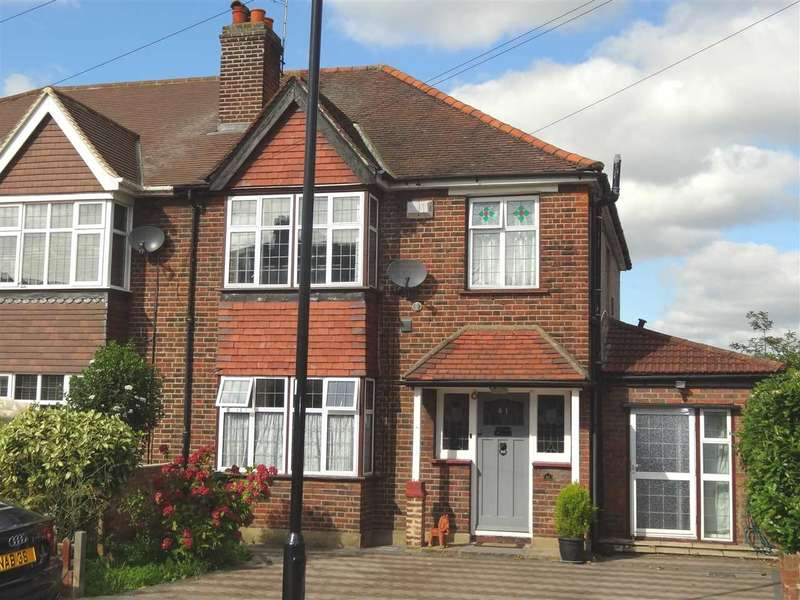 4 Bedrooms Semi Detached House for sale in Alderney Avenue, Heston
