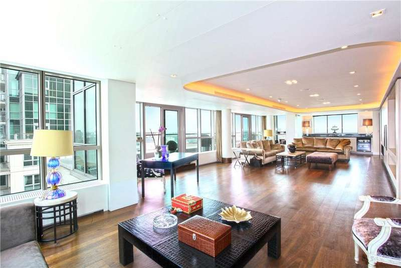 4 Bedrooms Penthouse Flat for sale in Kestrel House, St George Wharf, Vauxhall, London, SW8