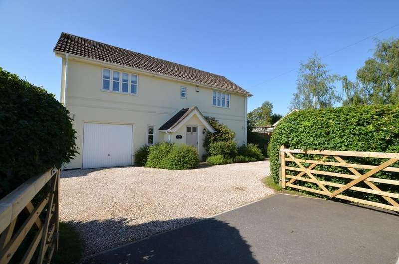 4 Bedrooms Detached House for sale in Whatfield Road, Elmsett, Ipswich, Suffolk, IP7 6LT