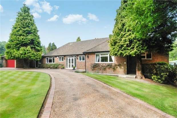 4 Bedrooms Detached Bungalow for sale in Highland Road, Badgers Mount, Sevenoaks, Kent