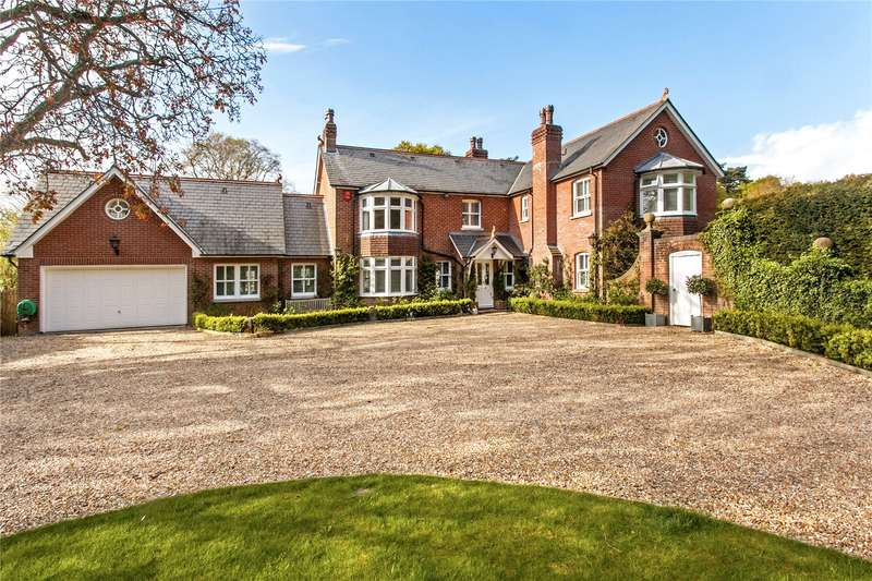 5 Bedrooms Detached House for sale in Bighton Hill, Ropley, Alresford, Hampshire, SO24