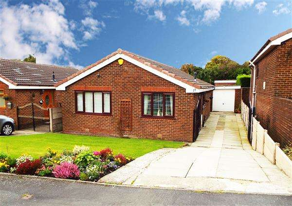 2 Bedrooms Detached Bungalow for sale in Falkland Close, Moorside