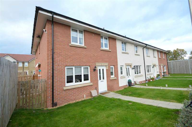 2 Bedrooms End Of Terrace House for sale in James Weir Grove, Uddingston