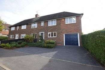 3 Bedrooms Semi Detached House for sale in Elmwood Drive, Breadsall, Derby, DE21 4GB