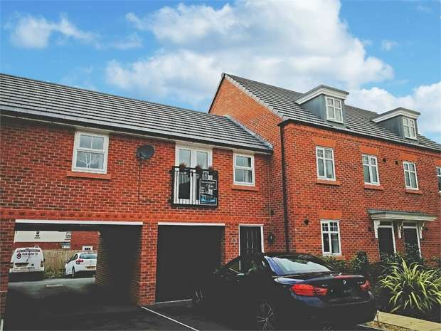 2 Bedrooms Terraced House for sale in Buttonbush Drive, Stapeley, Nantwich, Cheshire