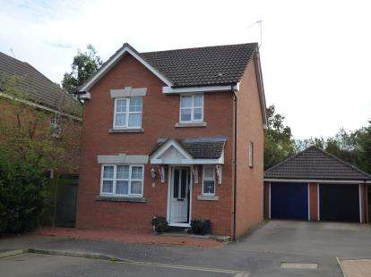 3 Bedrooms Detached House for sale in Randall Drive, Toddington, Dunstable, Bedfordshire