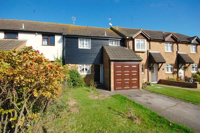 3 Bedrooms Terraced House for sale in Blacklock, Chelmer Village, Chelmsford, CM2