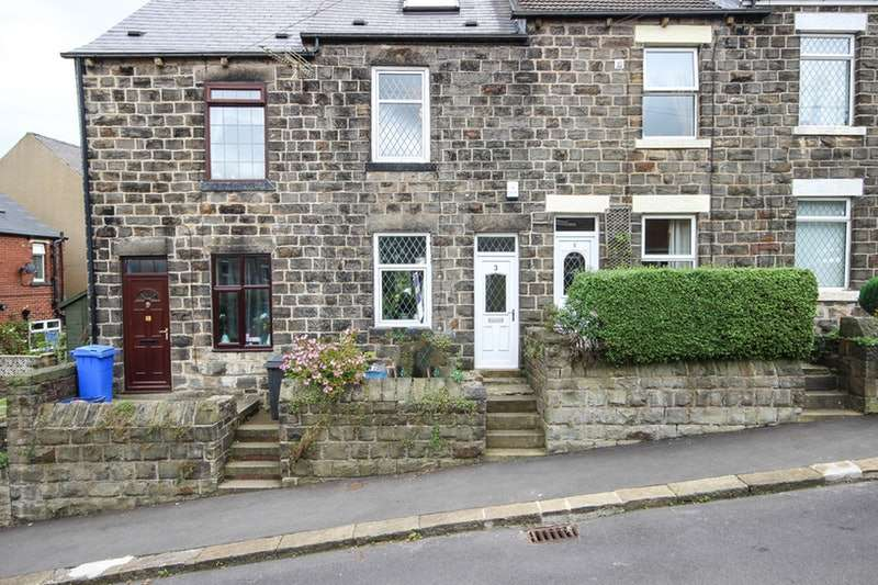 3 Bedrooms Terraced House for sale in Whitwell Crescent, Sheffield, South Yorkshire, S36