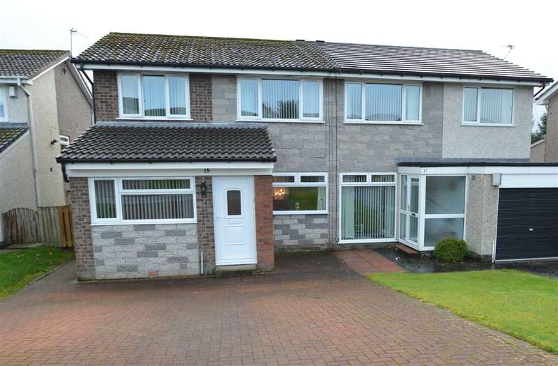 3 Bedrooms Semi Detached House for sale in Orchard Gardens, Strathaven