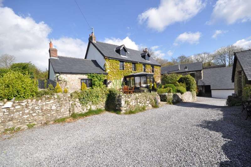 6 Bedrooms Farm House Character Property for sale in Bryn Niwl, Meidrim, Carmarthen SA33 5QS