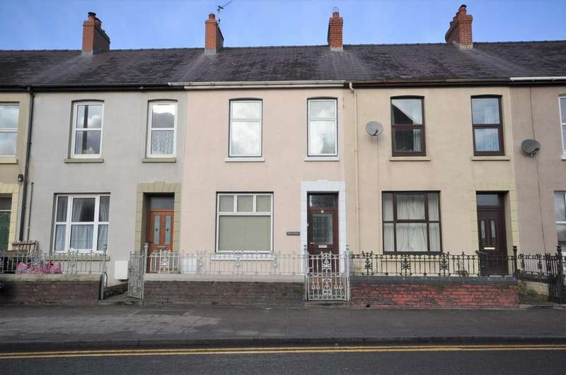 2 Bedrooms Terraced House for sale in Woodside, 4 Oak Terrace, Carmarthen SA31 1NX