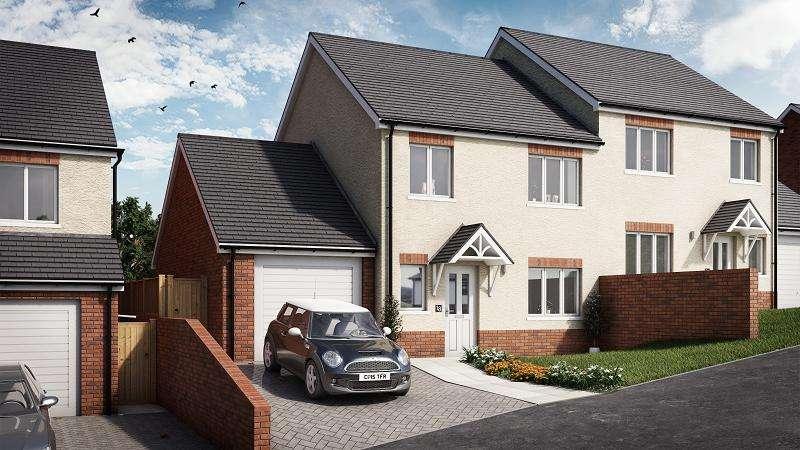 3 Bedrooms Semi Detached House for sale in Cedar, Plot 17 Waunsterw, Rhydyfro, Pontardawe.