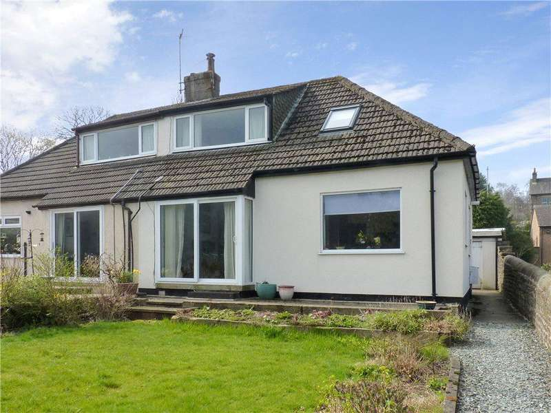 2 Bedrooms Semi Detached House for sale in Fountain Villas, Oxenhope, Keighley, West Yorkshire