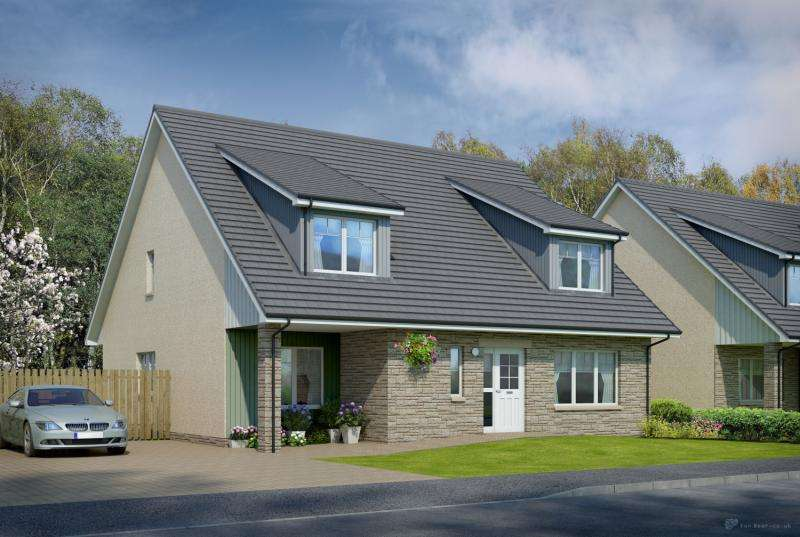 4 Bedrooms Detached House for sale in The Kintyre At The Views, Saline, Dunfermline, Fife