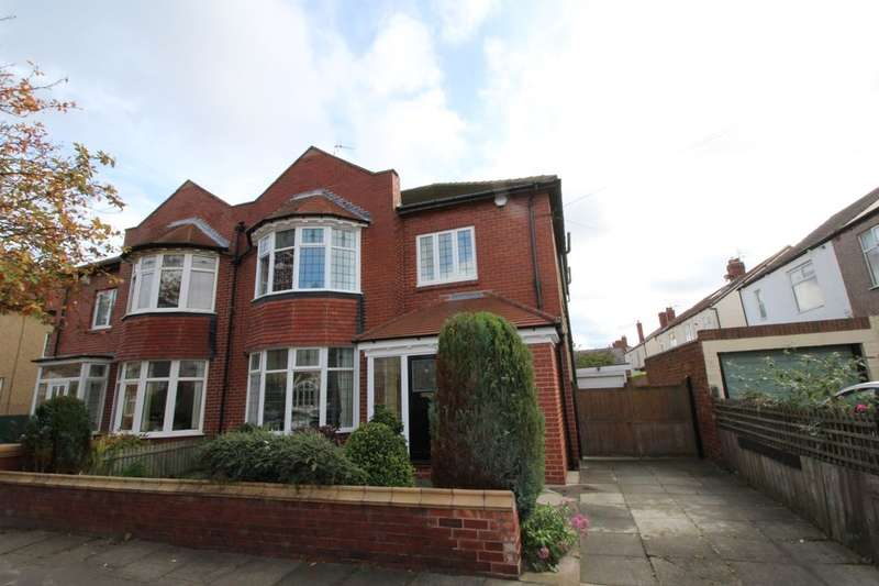 4 Bedrooms Semi Detached House for sale in Ashfield Grove, Whitley Bay, NE26
