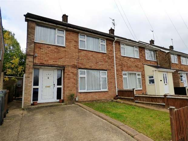 3 Bedrooms Semi Detached House for sale in Wheatfield Road, Luton, Bedfordshire