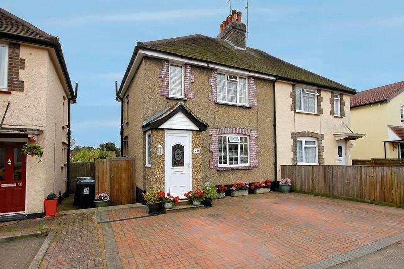 2 Bedrooms Semi Detached House for sale in Cavendish Road, Markyate **** NO UPPER CHAIN ****