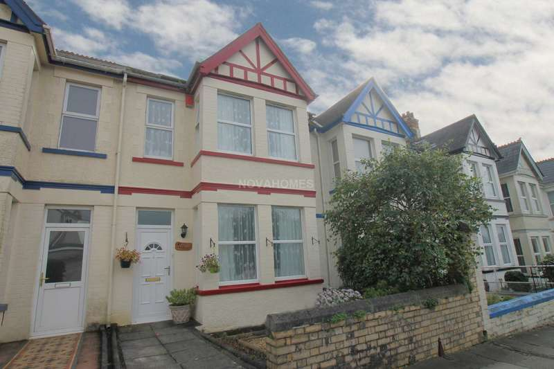 4 Bedrooms Terraced House for sale in Ford Park Road, Mutley, Plymouth, PL4 6NU