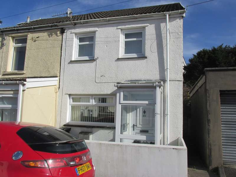 2 Bedrooms End Of Terrace House for sale in Mardy Street, Merthyr Tydfil
