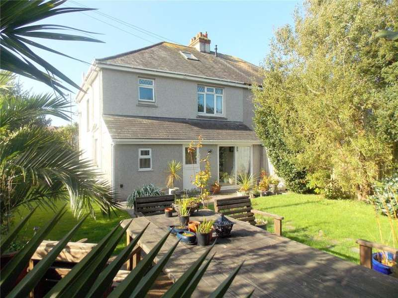 3 Bedrooms Semi Detached House for sale in Dracaena Avenue, Falmouth