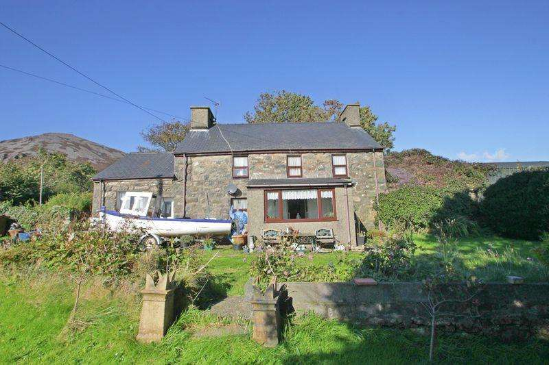 4 Bedrooms Link Detached House for sale in Llanaelhaearn, Gwynedd