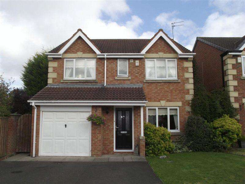 4 Bedrooms Detached House for sale in Lapford Drive, Cramlington