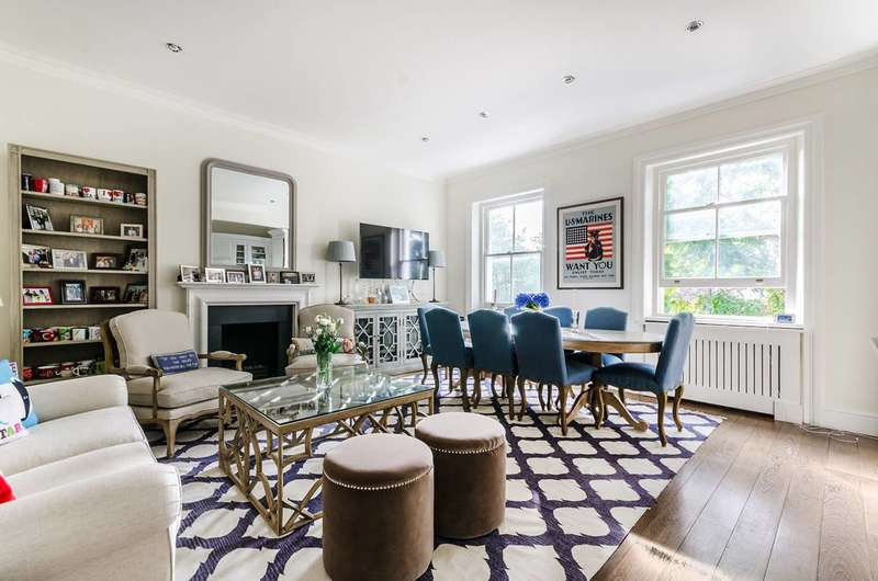 3 Bedrooms Flat for sale in Redcliffe Gardens, Chelsea, SW10