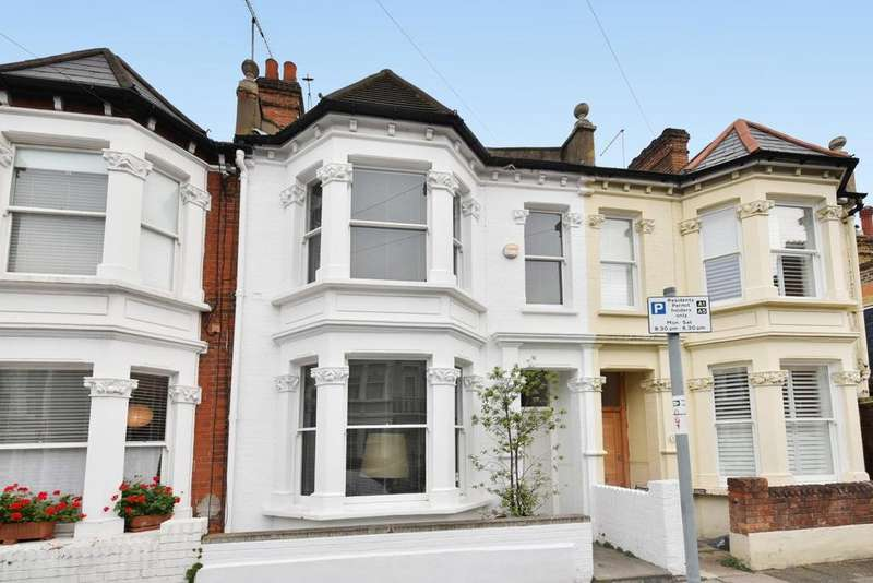 4 Bedrooms Terraced House for sale in Glendarvon Street, Putney