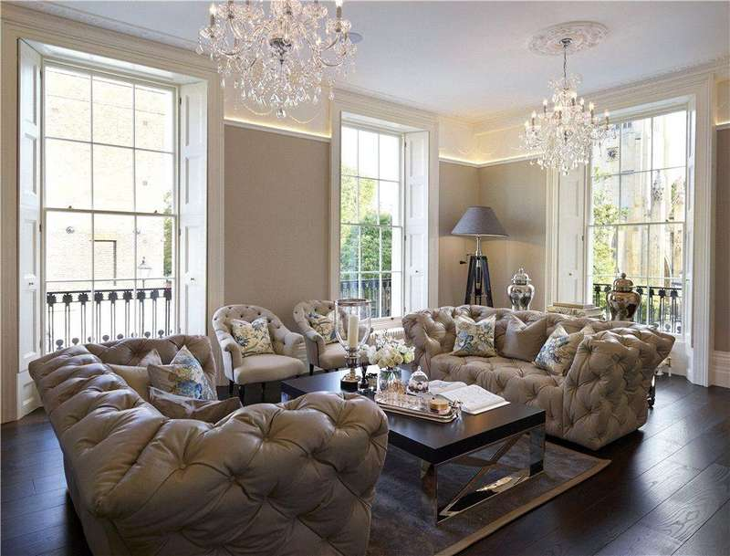 6 Bedrooms Semi Detached House for sale in Myddelton Square, Islington, London, EC1R