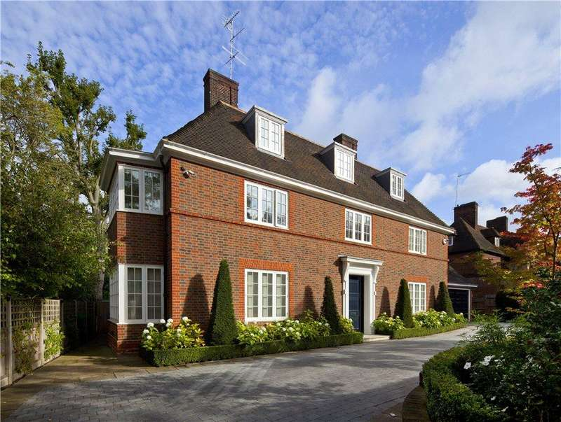 6 Bedrooms Detached House for sale in Ingram Avenue, Hampstead Garden Suburb, London, NW11
