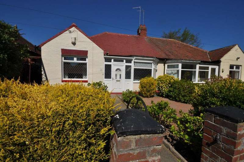 2 Bedrooms Semi Detached Bungalow for sale in Winalot Avenue, Sunderland