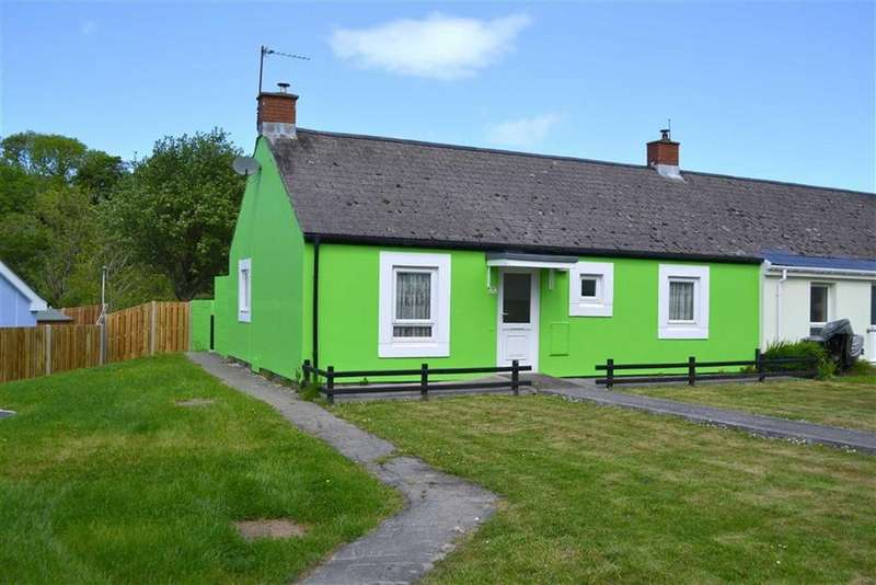 2 Bedrooms Semi Detached Bungalow for sale in Heol Y Bont, Llanarth, Ceredigion