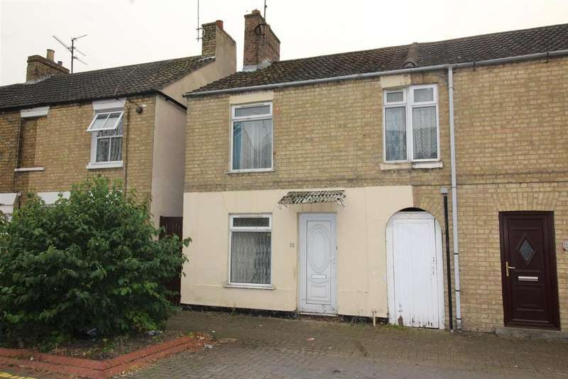 2 Bedrooms End Of Terrace House for sale in Whalley Street, Peterborough