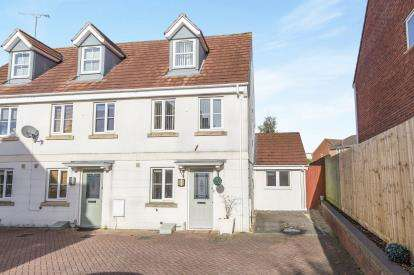 4 Bedrooms Semi Detached House for sale in Rosebay Gardens, Cheltenham, Gloucestershire