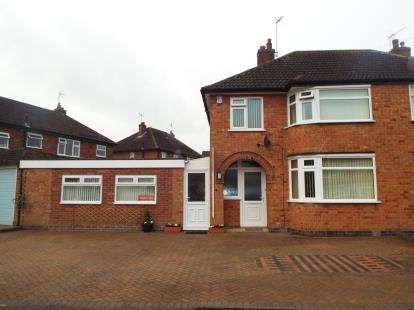 4 Bedrooms Semi Detached House for sale in Mayfield Drive, Wigston Fields, Leicestershire
