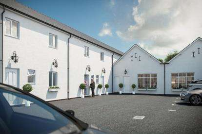 2 Bedrooms Mews House for sale in Westminster Court, Grosvenor Street, Mold, CH7
