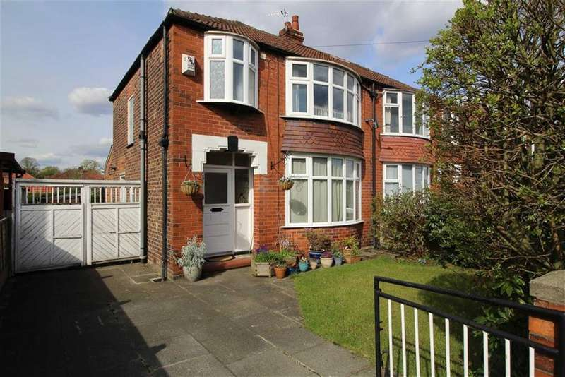 3 Bedrooms Semi Detached House for sale in Brantingham Road, Chorlton Cum Hardy, Manchester