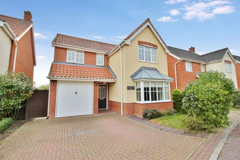 4 Bedrooms Detached House for sale in Tizzick Close, Norwich