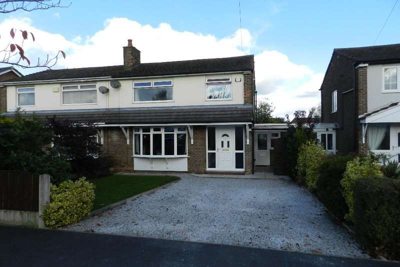 3 Bedrooms Semi Detached House for sale in Bentham Road, Culcheth, Warrington, WA3 5EQ